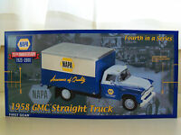 First Gear napa 75th Anniversary 1958 Gmc Straight Truck Diecast Model