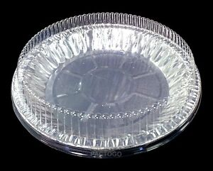 Handi Foil 9 Quot Aluminum Pie Pan Plate Tin 1 Quot Deep W Clear