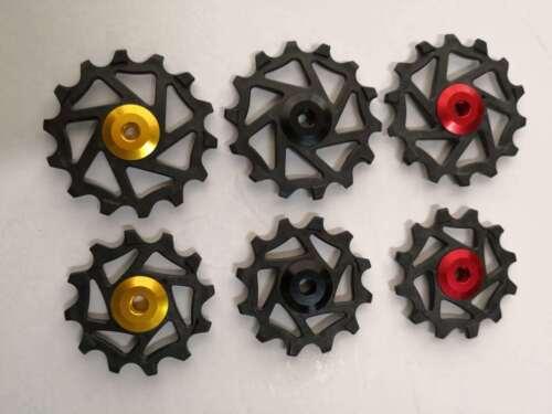 12T+14T Ceramic Derailleur Pulley//Jockey For S R9100,R8000,R9150,R8050,Sram MTB