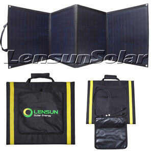 Lensun-100W-160W-200W-12V-Portable-Folding-ETFE-Solar-Panel-for-Camping-Van-RVs