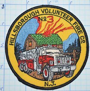 NEW JERSEY, HILLSBOROUGH VOLUNTEER FIRE DEPT COMPANY 3 PATCH