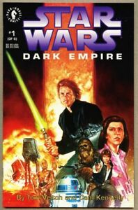 Star-Wars-Dark-Empire-1-1991-nm-9-6-Dark-Horse-Comics-1st-Standard-cover