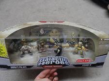 Star Wars Galactic Heroes Jabba The Hutt Palace TARGET Play Set Figure MIB- 2008