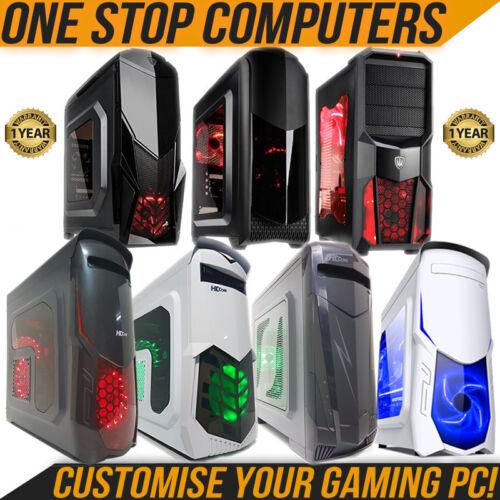 Personalizza il tuo ultra veloce Gaming Computer PC RAM HDD i3 i5 i7 di seconda generazione Windows