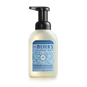 Mrs Meyer S Clean Day Rainwater Scent Foam Hand Soap 10