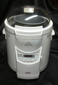 Welbilt bread machine manual & recipes (model: abm-100-3) [plastic.