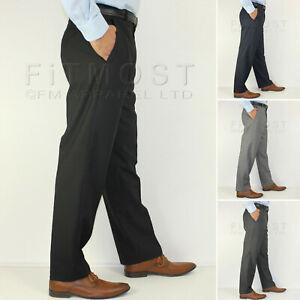 Vestido-Casual-para-Hombres-Pantalones-Con-Cinturon-Formal-De-Negocios-Oficina-Inteligente
