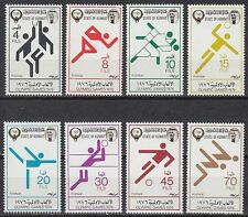 Kuwait 1976 ** Mi.680/87 Olympische Spiele Olympic Games Pictogramme