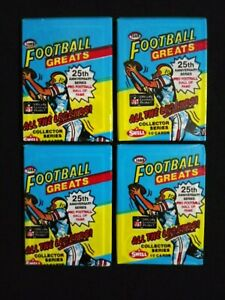 1988-Swell-Football-Wax-Pack-4-Pack-Lot