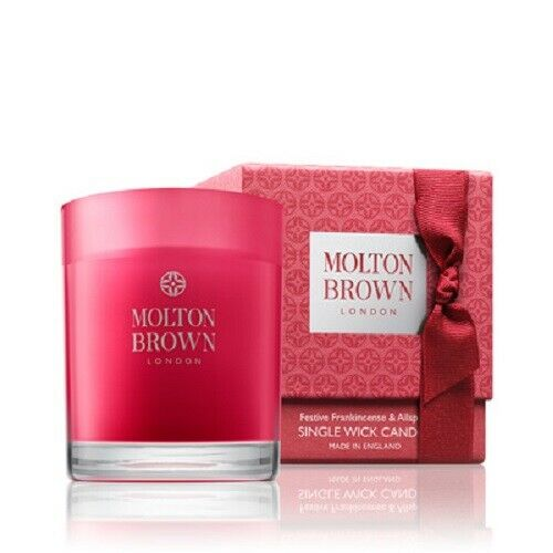 Molton Brown Frankincense & Allspice Candle 180g Limited Edition Christmas