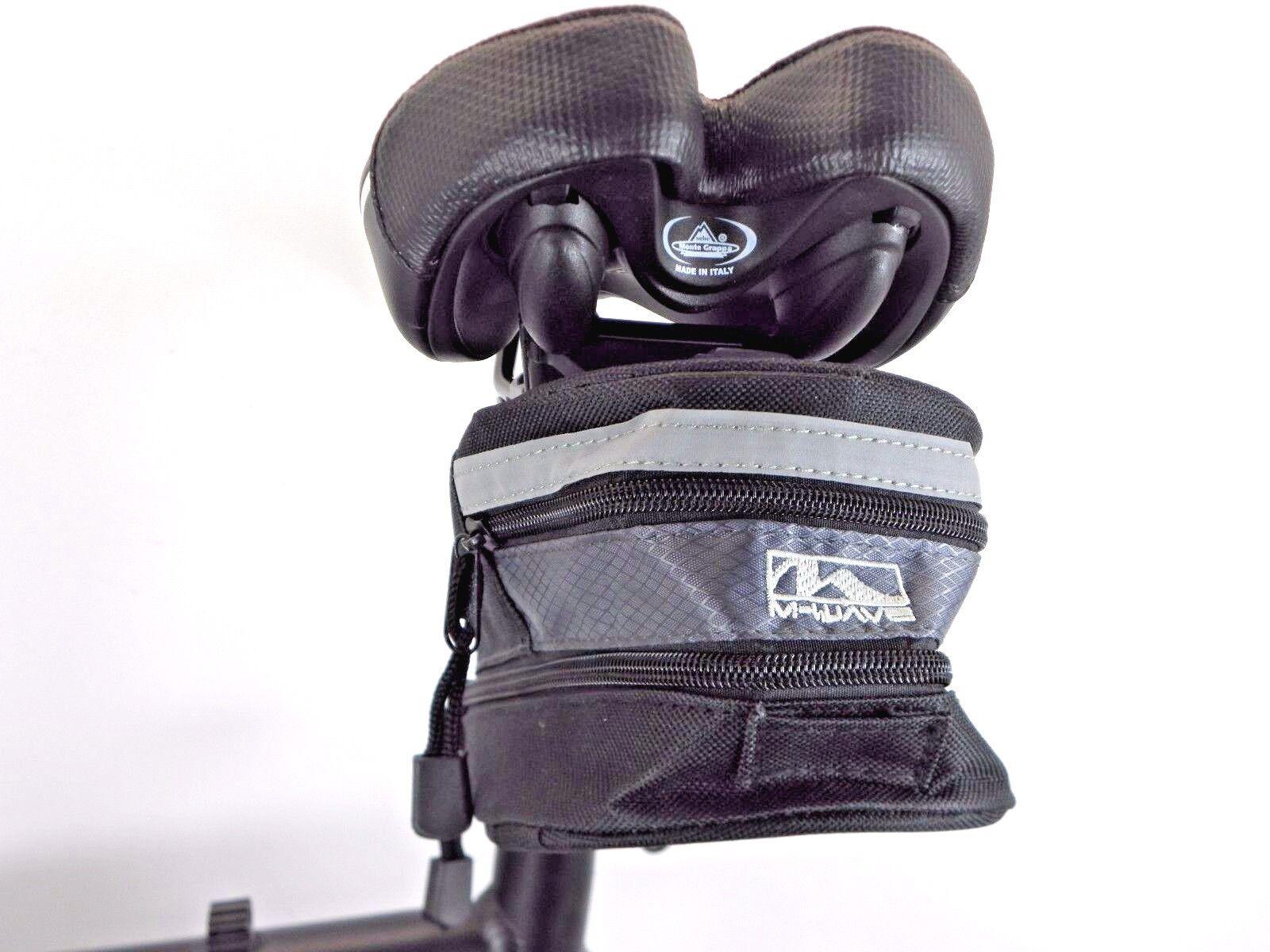 Bolsa sillín herramienta bolso para los desplazamientos m-wave con soporte ampliable 13920