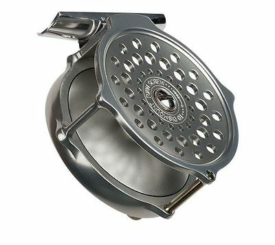"NEW HARDY BOUGLE HERITAGE 3 1/2"" FLY REEL #5-6 WEIGHT ROD UK MADE FREE $100 LINE"