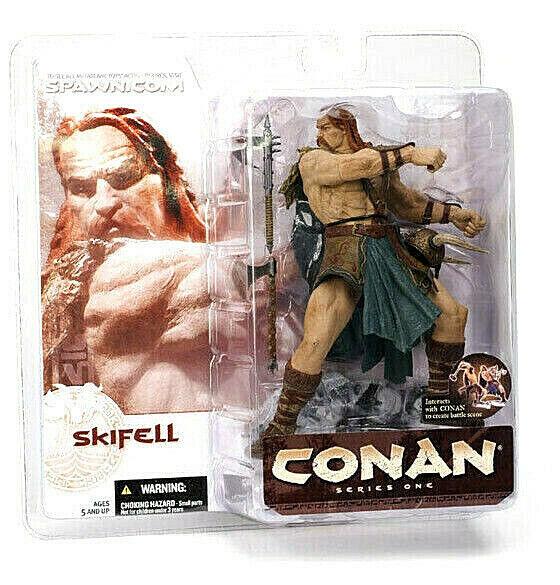 Conan Serie 1 Skifell Figura PVC 16cm Mcfarlane