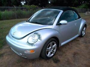 2004 04 Volkswagen VW BEETLE set of 2 roll bars ...