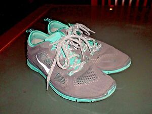 Nike Size 6.5 Aqua & Grey No: 629496-200 Clean Washed