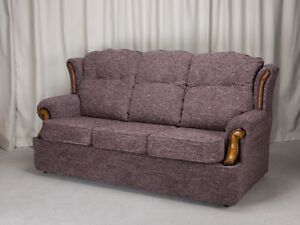 Tan Couch Cranberry Chair Living Room