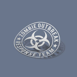 Zombie Outbreak Response Team Decal Sticker | The Walking Dead | Choose Color