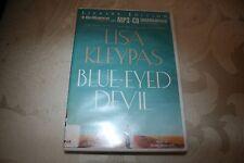 Blue-Eyed Devil by Lisa Kleypas MP3-CD Audiobook Recorded CD