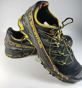 La-Sportiva-Ultra-Raptor-Low-Black-Trail-Running-Hiking-Shoes-Mens-US-11-5