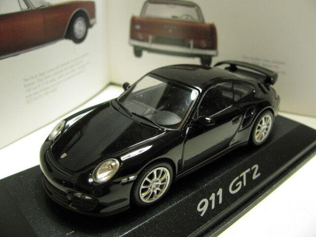 1/43 Minichamps Porsche 911 Gt2 Diecast Distribuidor versión