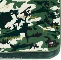 Andy Warhol X Uniqlo 'camouflage (olive)' Art Blanket / Throw 63 X 43 In.
