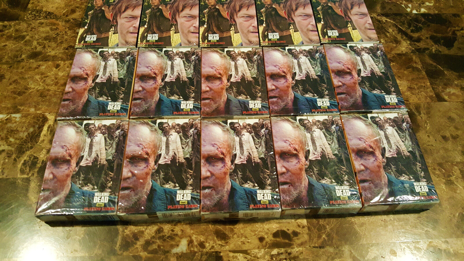 The walking dead, Daryl & Merle dixon dixon dixon 20 SETS of playing cards, brand new sealed 5586b3