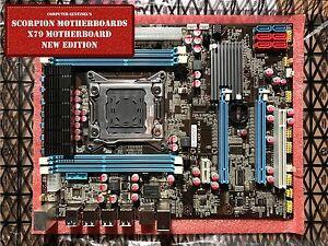 NEW-Intel-X79-Motherboard-USB-3-0-ATX-DDR3-ECC-Server-WiFi-OC-LGA-2011
