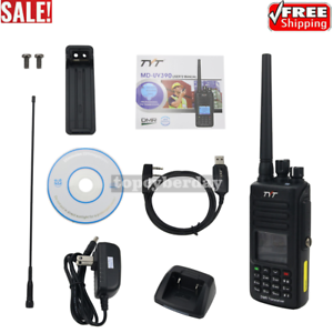 TYT MD-UV390 DMR Radio Station 2 Band 2 Time Slot Walkie Talkie IP67 w/USB Cable