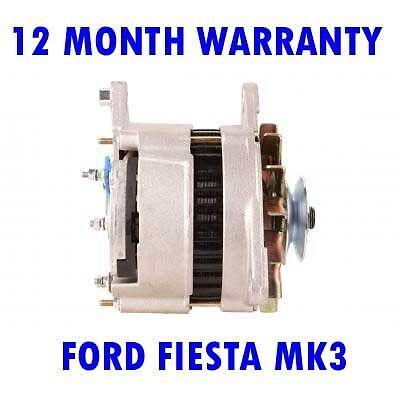 Ford fiesta mk3 mk III 1.4 1.6 hatchback 1989 1990 1991-1995 alternator