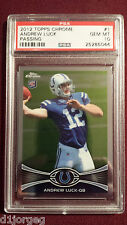 Andrew Luck  2012 Topps Chrome Rookie Card RC PSA 10 Gem Mt Qty Available