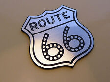 ROUTE 66 Schild Klein Kühlschrank MAGNET Americana Reise Road-Trip Highway USA