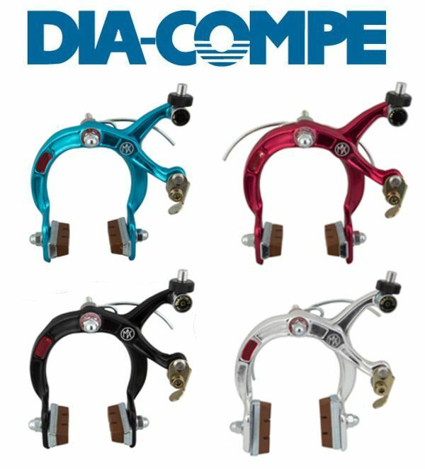 Dia Compe old school  BMX reissue MX1000 MX 1000 brake caliper BLK blueeE SIL RED  fast shipping