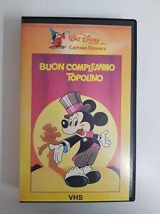 BUON-COMPLEANNO-TOPOLINO-1982-VHS-DISNEY