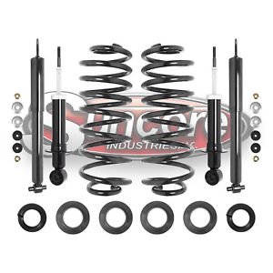 2003 2011 Lincoln Town Car Front Rear Shocks With Rear Coil Spring