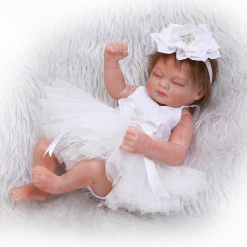 "Miniature 10/"" 26cm Lifelike Reborn Baby Doll Realistic Newborn Baby Girl Dolls"