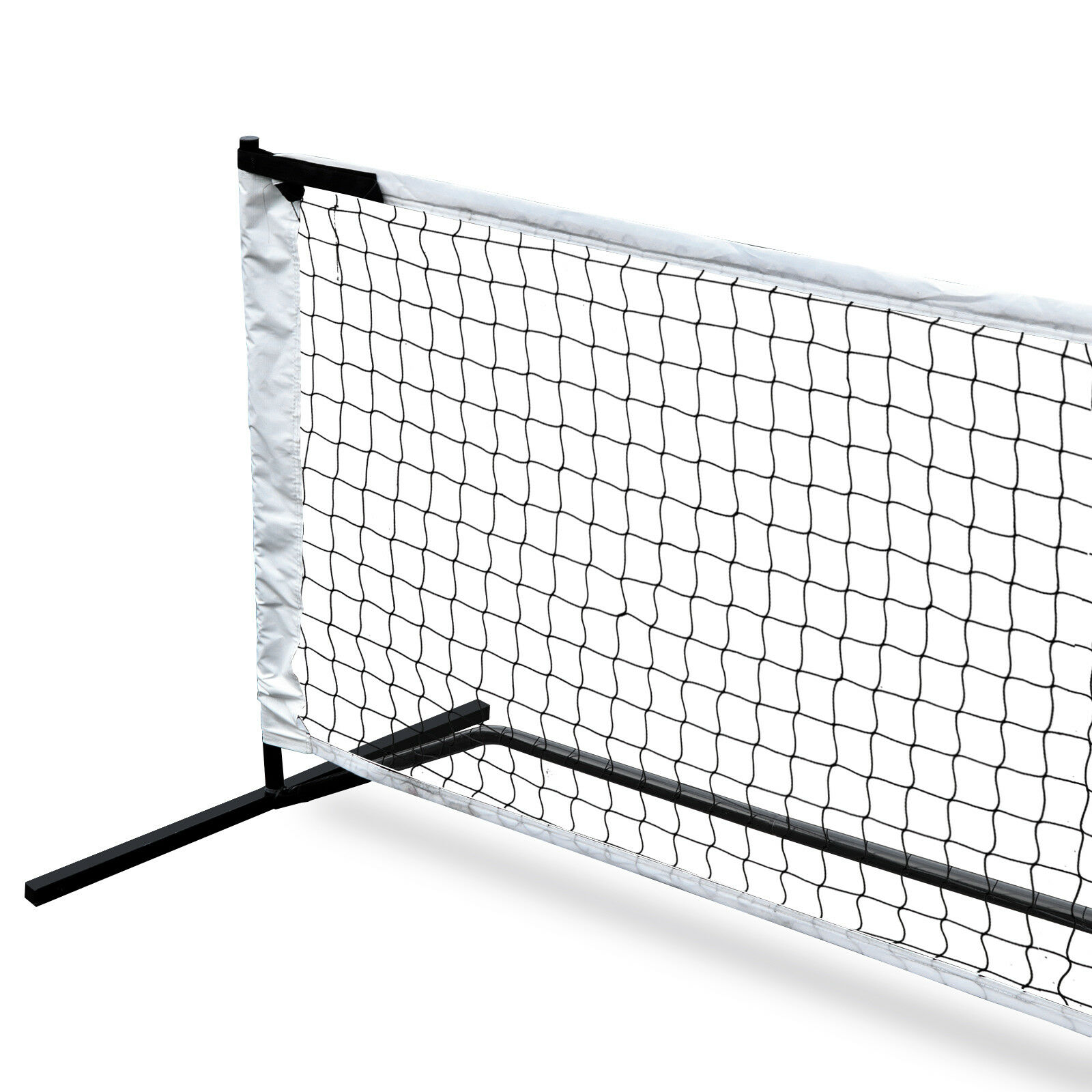 Kids Volleyball W//4 Stakes /& Carry Bag 22FT Deluxe Portable Pickleball Set