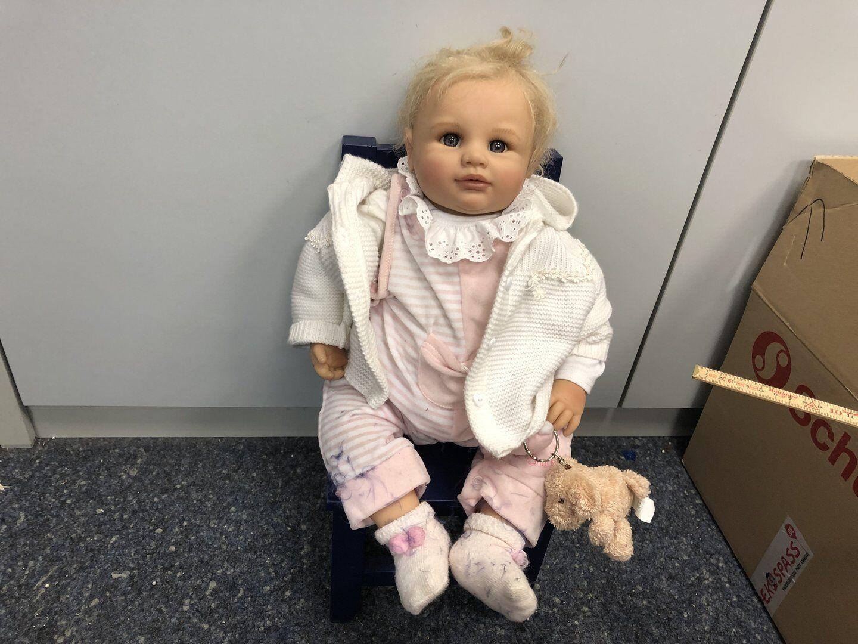 Monika Gerdes vinile bambola 58 CM. OTTIMO stato