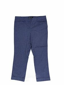 New-York-And-Company-Women-s-Size-4-Flat-Front-Ankle-Crop-Pants