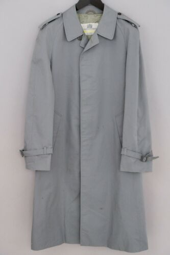 Men Aquascutum Coat Casual Business Formal Cotton