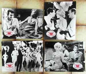 4-Aushangfotos-Kuess-mich-Dummkopf-Billy-Wilder-Dean-Martin-1964-s-w
