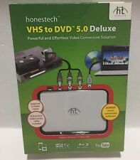 Honestech VHS to DVD 5.0 Deluxe Powerful & Effortless Video Conversion Solution