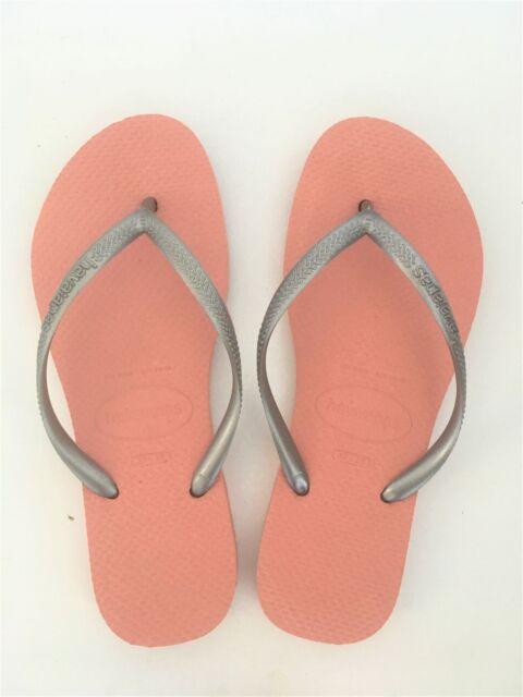 1c3629dfe Havaianas Slim Blush Pink   Silver Flip Flops UK 5 (brasil 37 38 ...