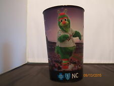 1 Guilford Grasshopper mascot for the Greensboro Grasshoppers  32 oz Plastic cup