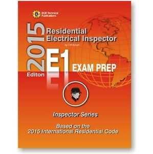 Details About E1 Icc Residential Electrical Inspector Exam Practice Questions Workbook 2015