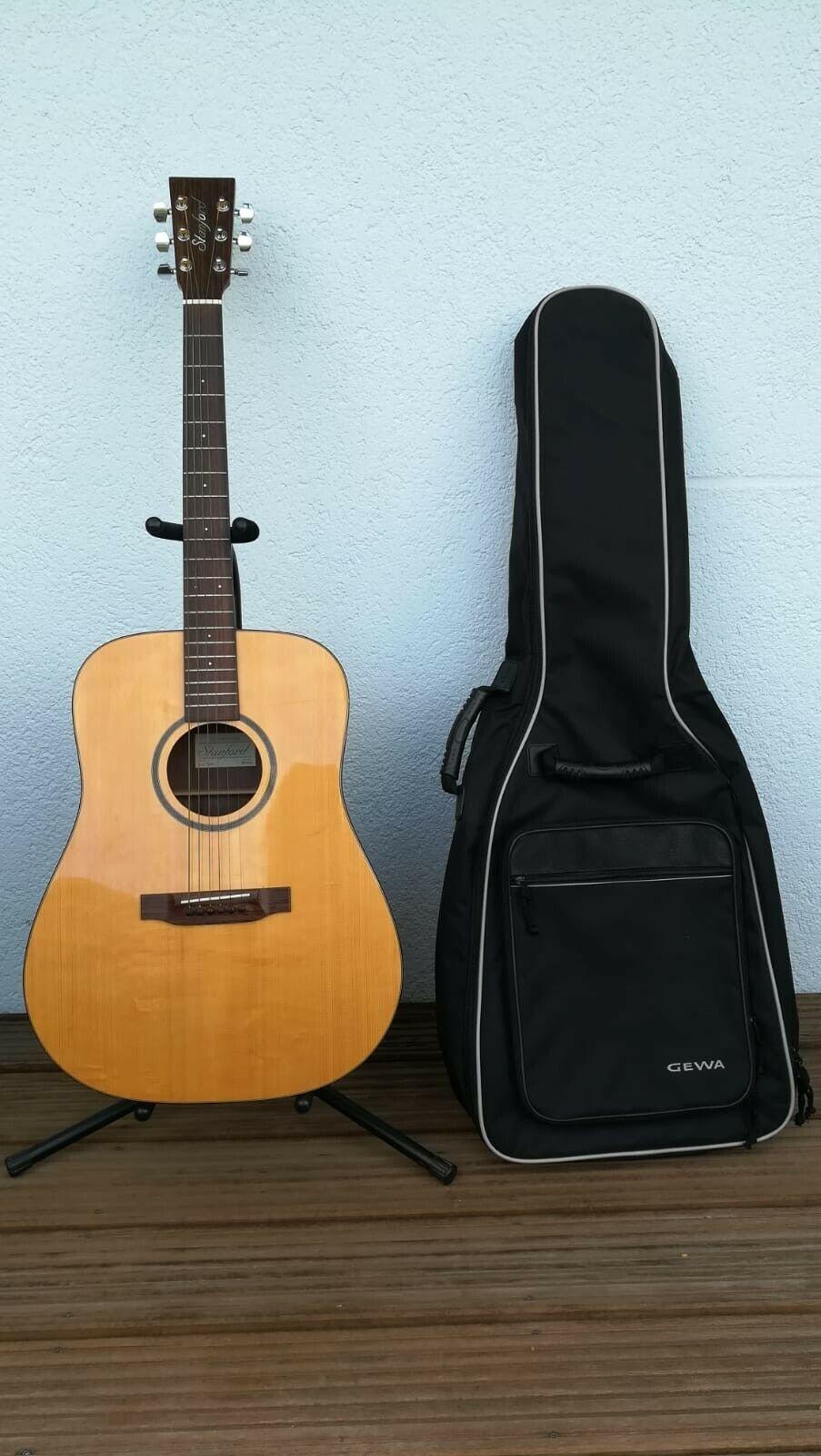 Westerngitarre Stanford D5 Pad Akustische Gitarre