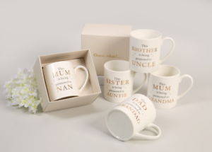 Promoted To Mugs Gift Boxed Pregnancy New Baby Announcement Guess What