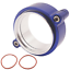 HD-Clamp-V-band-Flange-Assembly-Fits-3-034-INCH-76mm-Turbo-Dump-Pipe-Blue thumbnail 3