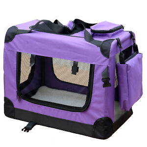 Boîte Pour Chien De Transport Reisebox Auto Chat M Violet