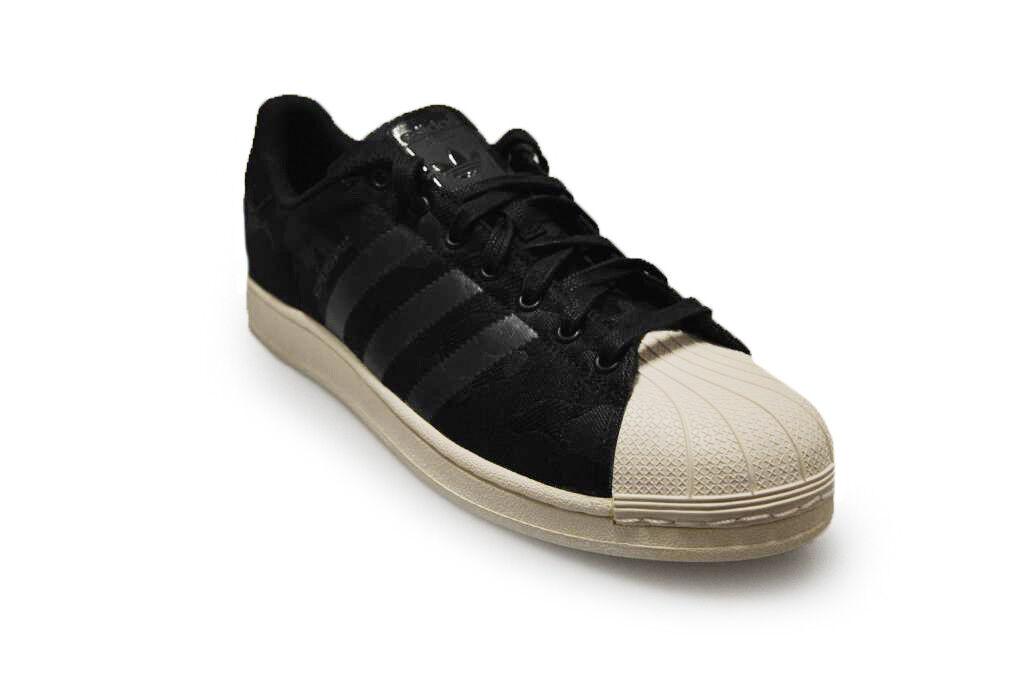 Herren Adidas - Superstar gewebt - aq6745 - Adidas Schwarz Weiß Turnschuhe 89f48c