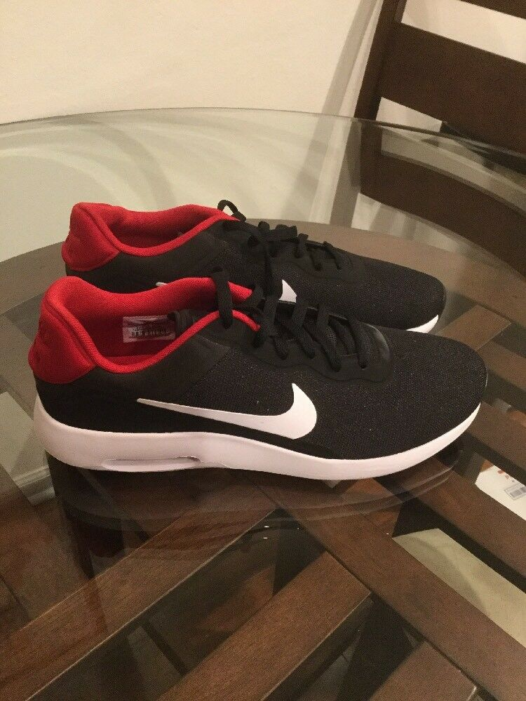 Nike Air Max Modern Essential Black   White-Gym Red 844874-007 Size 11.5